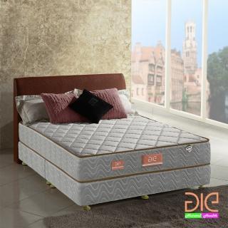 【aie享受名床】竹碳+3M防潑水+乳膠二線獨立筒床墊-雙人5尺(經濟型)
