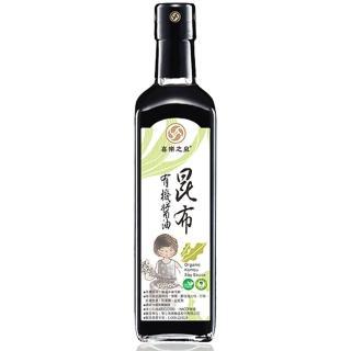【喜樂之泉】有機昆布醬油(500ml)