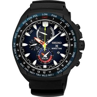【SEIKO】精工 Prospex 海世界計時腕錶-黑/44mm(V195-0AB0SDSSC551P1)