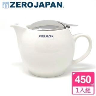 【ZERO JAPAN】典藏不鏽鋼蓋壺450cc(白色)