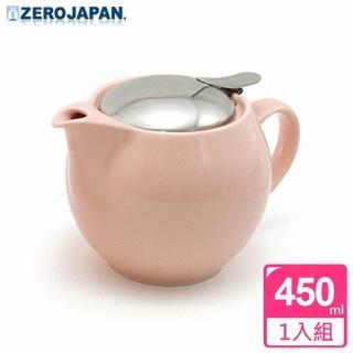 【ZERO JAPAN】典藏不鏽鋼蓋壺450cc(桃粉紅)