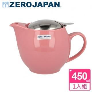 【ZERO JAPAN】典藏不鏽鋼蓋壺450cc(玫瑰粉)