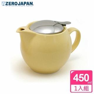 【ZERO JAPAN】典藏不鏽鋼蓋壺450cc(香蕉黃)