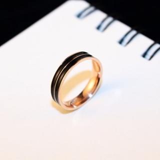 【米蘭精品】玫瑰金戒指流行飾品(獨特奢華氣質個性七夕情人節生日禮物73by58)