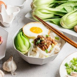 【栗園米食】粄條組合-任選6組(肉燥/炸醬/干貝/泰式/沙茶-口味任選)