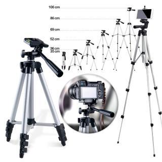 【AISURE】直播神器 360度旋轉手機相機兩用腳架(附收納袋)