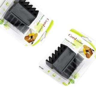 【Ainmax Cord Divider】線材疏洪道 固定黏膠 方便固定各種線材(2入)