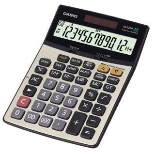 【CASIO】12位數桌上型商用計算機(DJ-220D PLUS)