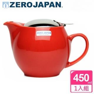 【ZERO JAPAN】典藏不鏽鋼蓋壺450cc(蕃茄紅)