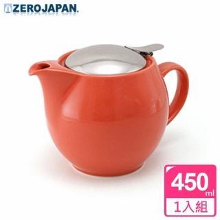 【ZERO JAPAN】典藏不鏽鋼蓋壺450cc(蘿蔔紅)
