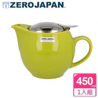 【ZERO JAPAN】典藏不鏽鋼蓋壺450cc(青草綠)
