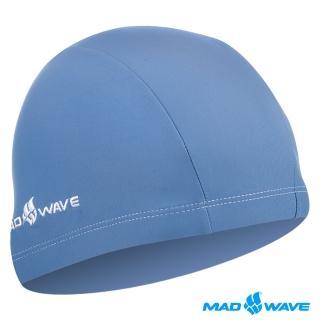 【俄羅斯MADWAVE】LYCRA(成人萊卡彈性泳帽)