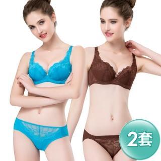 【思薇爾】暮夏系列B-F罩蕾絲內衣3套組(隨機出貨)