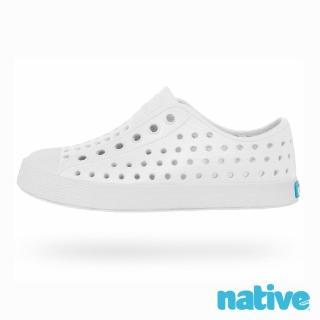 【native】JEFFERSON JUNIOR 奶油頭鞋-貝殼白(大童)