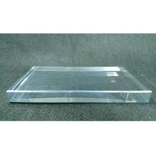 【創藝工坊】透明壓克力底座20x10x2 cm(藝術品展示 底座配件 透明壓克力)
