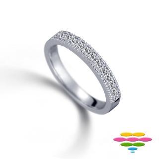 【彩糖鑽工坊】Elegance系列 鑽石排戒線戒(CL-RD186)