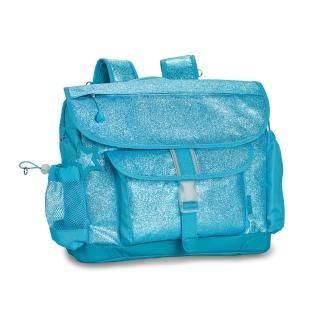 【美國Bixbee】閃采系列冰雪藍中童輕量減壓背書包