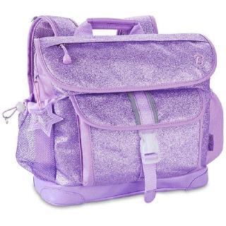 【美國Bixbee】閃采系列夢幻紫中童輕量減壓背書包