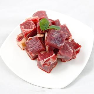 【幸福小胖】紐西蘭PS級嫩肩骰子牛肉 12包(真空包/300g/包)