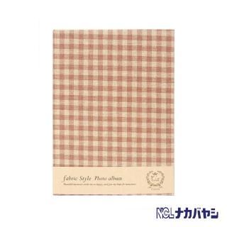 【日本 Nakabayashi】自黏相本 麻布系列 日式格紋相本(黃)
