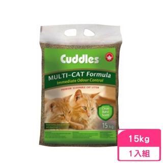 【加拿大 諾美利加Cuddles】清香強力凝結砂15kg