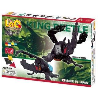 【LaQ昆蟲系列】甲蟲王者(日本LaQ立體拼圖)