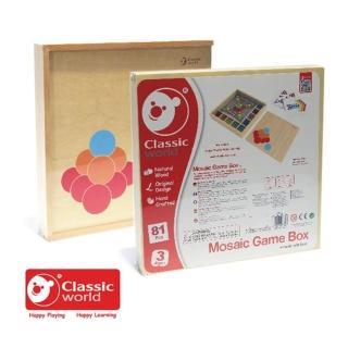 【Classic world 德國經典木玩客來喜】小球配對遊戲盒