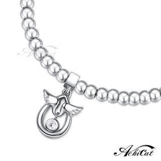 【AchiCat】圓珠鋼手鍊 珠寶白鋼 點滴情懷 天使蛋 H6043