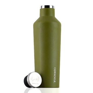 【CORKCICLE 酷仕客】Waterman戶外系列易口瓶-470ml(橄欖綠)