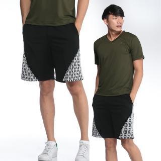 【遊遍天下】台灣製男款吸排藍球褲P122黑色(M-2L)