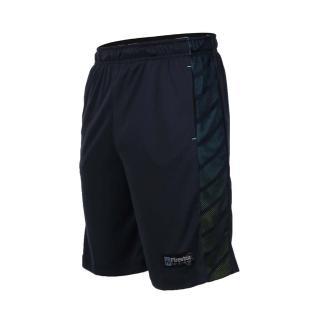 【FIRESTAR】男吸排籃球短褲-慢跑 路跑 五分褲(丈青)