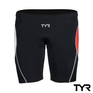 【美國TYR】VANGUARD 9 TRI PANTS Red男性成人三鐵短褲-紅(鐵人三項專用)