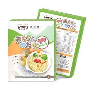 【親子御膳坊】寶寶元氣粥150g(150gX2)