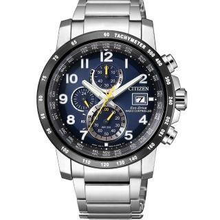 【CITIZEN 星辰】Eco-Drive 光動能時尚電波腕錶(AT8126-02E)