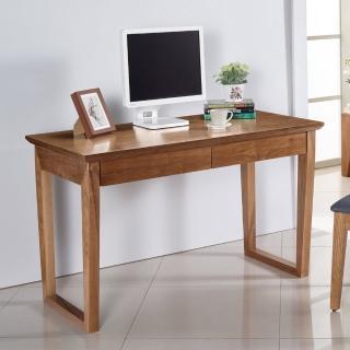 【H&D】風華4尺胡桃二抽書桌