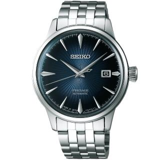【SEIKO】Presage 調酒師中央動力儲存顯示機械腕錶(4R57-00E0P SSA346J1)