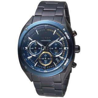 【ALBA雅柏】日系潮流三眼計時腕錶(VK63-KMB0S AY8023X1)