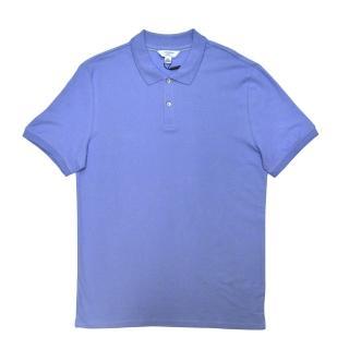 【CK】經典POLO衫 粉藍色(美國時尚品牌服飾)
