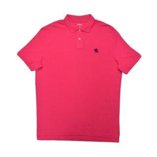 【Express】經典Polo衫 黑色小獅LOGO(美國時尚品牌服飾)
