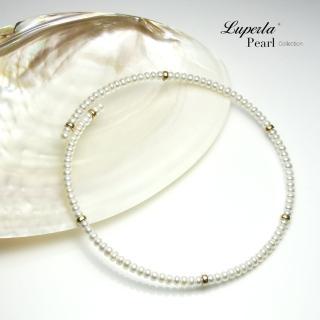 【大東山珠寶】珍愛項鍊 歐美古典編織珠寶(天然珍珠14K金)