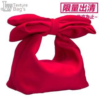 【JW】甜心姐兒蝴蝶結造型手肩包 大款(共4色)