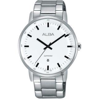 【ALBA】雅柏 Fashion 幾何圖騰晶鑽女錶-33mm(VD75-X110P AP6554X1)