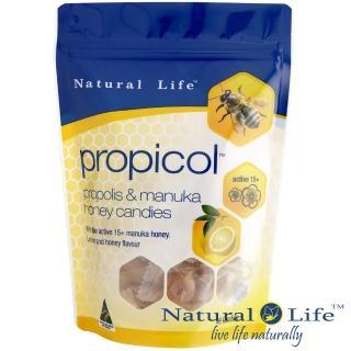 【澳洲Natural Life】活性麥蘆卡蜂蜜蜂膠潤喉糖(40顆)