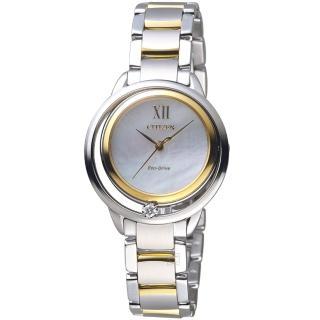 【CITIZEN】L系列 光動能星星閃耀腕錶(EW5514-87D)
