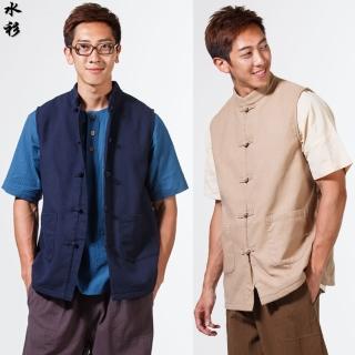 【水衫】暖男刷毛鋪棉背心二件組(E09-70)