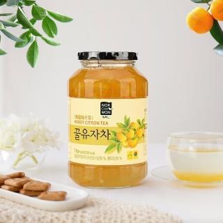【NOKCHAWON】綠茶園 蜂蜜柚子茶 1kg/罐(黃金柚子茶)