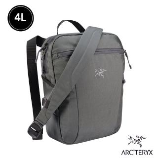 【Arcteryx 始祖鳥】24系列 Slingblade 4L 多功能斜背包(機長灰)
