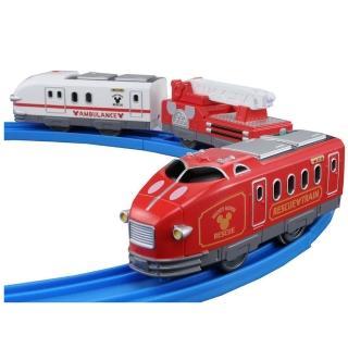 【Disney x PLARAIL】夢幻米奇救援車(男孩 鐵道火車)