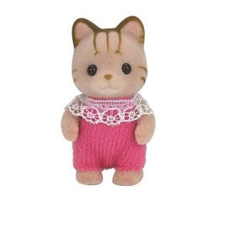 【森林家族】斑紋貓嬰兒(Sylvanian Family)