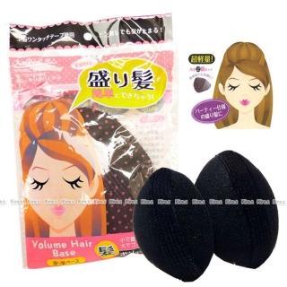 【kiret】公主頭蓬蓬髮輔助貼增高墊片(扁頭蓬鬆髮撐高器)